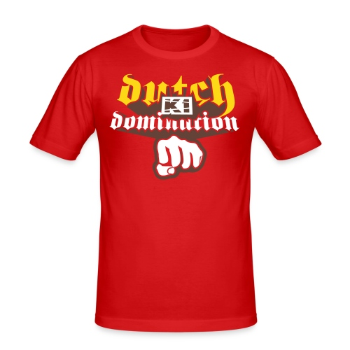 Dutch Domination (Red, SlimFit) - slim fit T-shirt