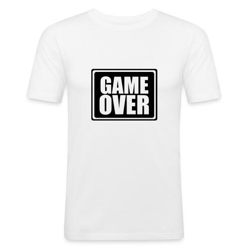 Game Over Mens Slim Fit T - Shirt - Men's Slim Fit T-Shirt