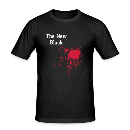 TNB Blood T - Men's Slim Fit T-Shirt