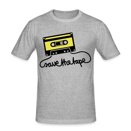 Save the Tape! - Men's Slim Fit T-Shirt