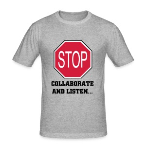 Stop - Vanilla Ice Tee - Men's Slim Fit T-Shirt
