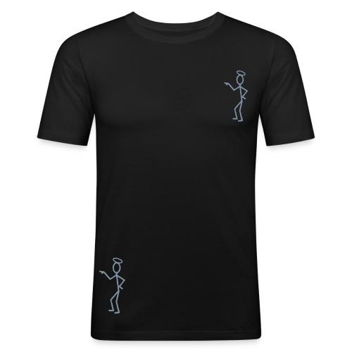 Saint - Slim Fit T-skjorte for menn