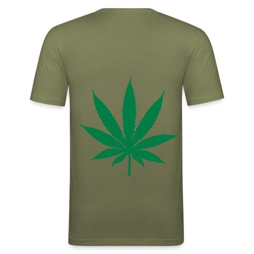 Toxic o - T-shirt près du corps Homme