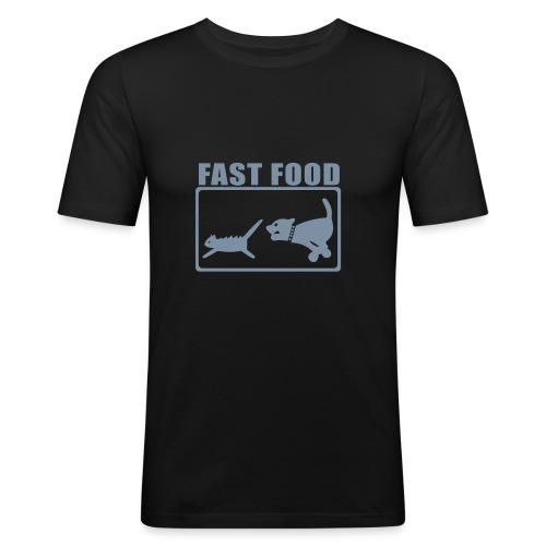 hot dog - T-shirt près du corps Homme