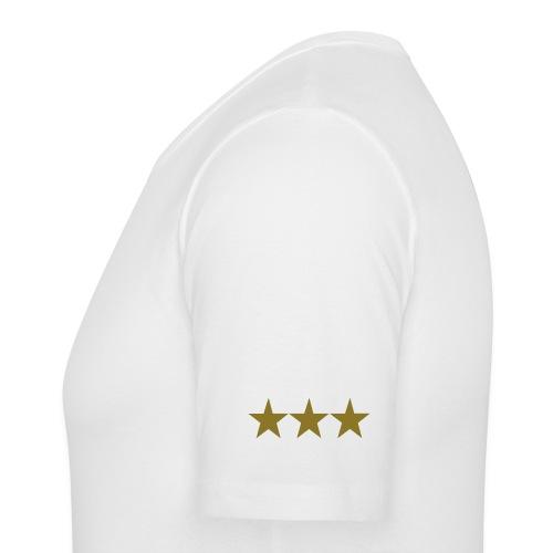 slim fit t-shirt with triple star graffic on sleeve - Men's Slim Fit T-Shirt