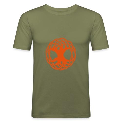 Weltesche - Männer Slim Fit T-Shirt
