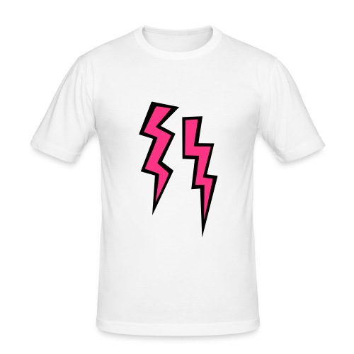 Lightning - Men's Slim Fit T-Shirt