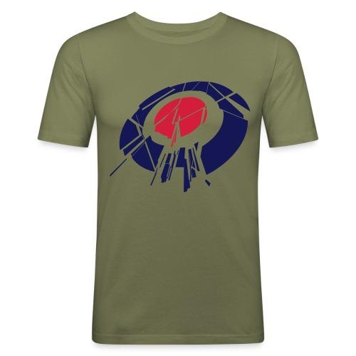 rockingtarget - T-shirt près du corps Homme