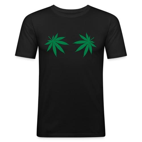 Leaf Of Life - Miesten tyköistuva t-paita