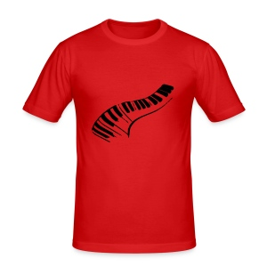 DarkRedPiano - slim fit T-shirt