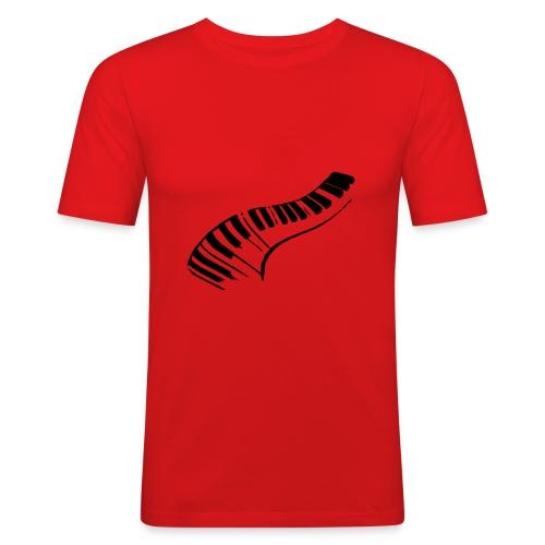 DarkRedPiano - slim fit T-shirt
