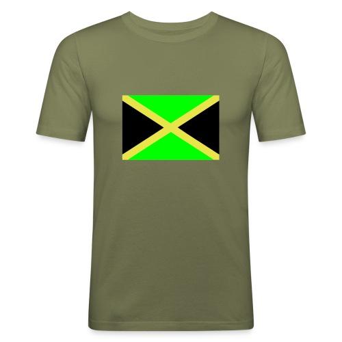 Jamaica - Miesten tyköistuva t-paita