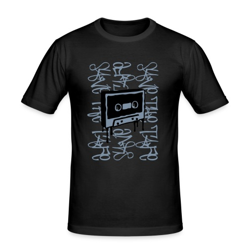 Tape - Scratch - Herre Slim Fit T-Shirt