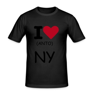 Tshirt Homme I LOVE (ANTO) NY 5 - Tee shirt près du corps Homme