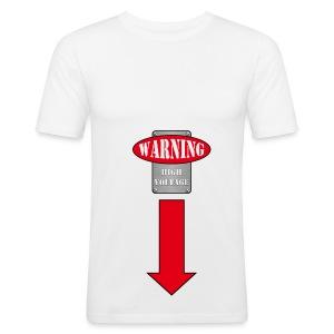 warning - slim fit T-shirt