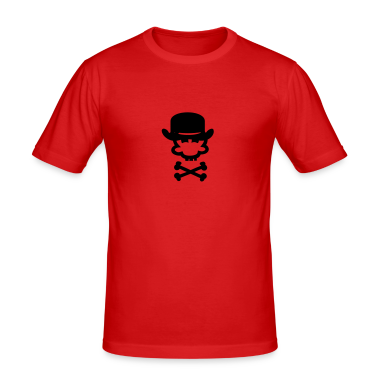 Dark orange bowler hat (1c) Men's Tees