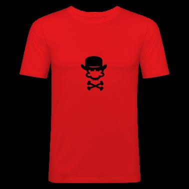 Dark orange bowler hat (1c) Men's Tees