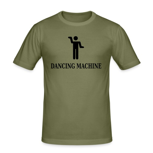 Dancing machine - Slim Fit T-skjorte for menn
