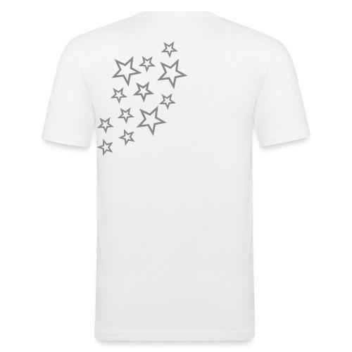 Free Stars white mc - T-shirt près du corps Homme