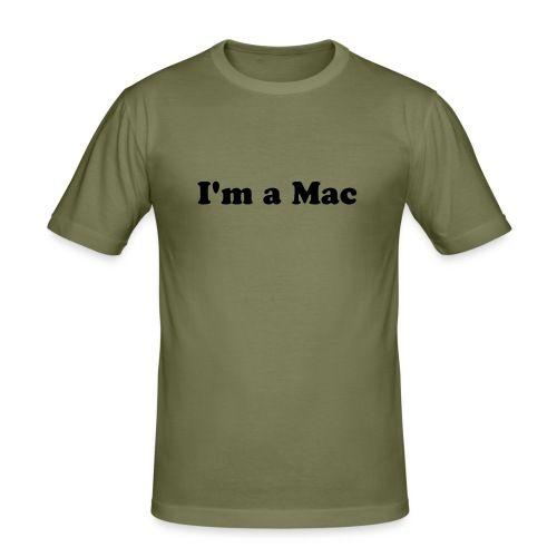 Mac Shirt - Männer Slim Fit T-Shirt