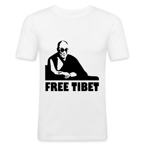 Tibet libre - T-shirt près du corps Homme