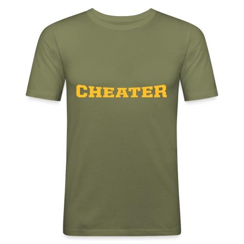 Cheater - T-shirt près du corps Homme