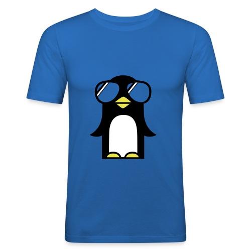 tee shirt homme pinguin - T-shirt près du corps Homme