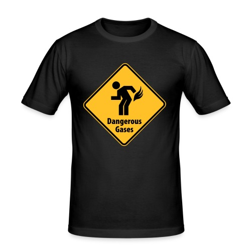 Dangerous Gases - Slim Fit T-skjorte for menn