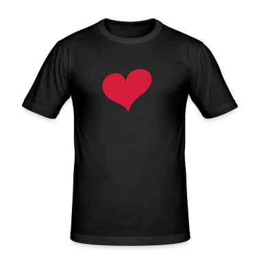 Black Heart Men's Tees