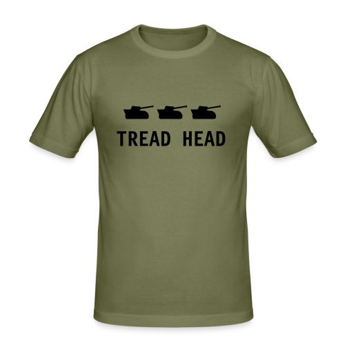 TREAD HEAD TEE - Men's Slim Fit T-Shirt