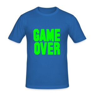 GAME OVER TEE - Men's Slim Fit T-Shirt
