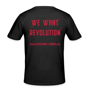 We Want 2 - Männer Slim Fit T-Shirt