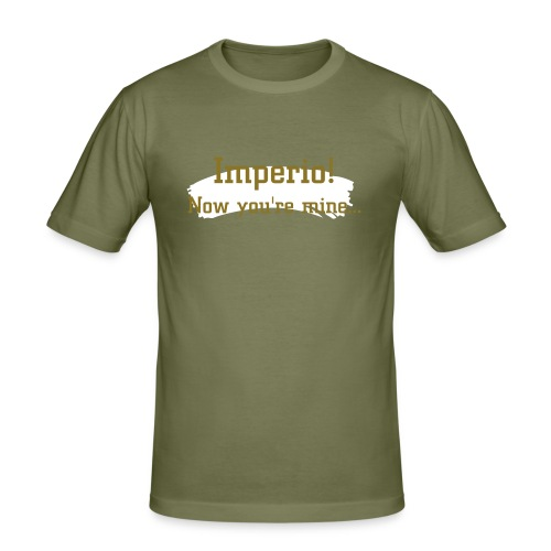 'Imperio!' Mens Slim Fit Tee OLIVE - Men's Slim Fit T-Shirt