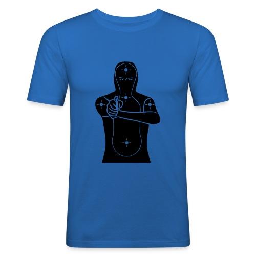 cible - T-shirt près du corps Homme
