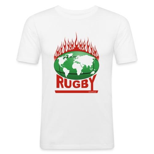 tshirt rugby 12 - T-shirt près du corps Homme