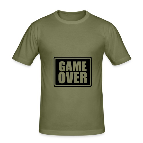 Game Over - Camiseta ajustada hombre