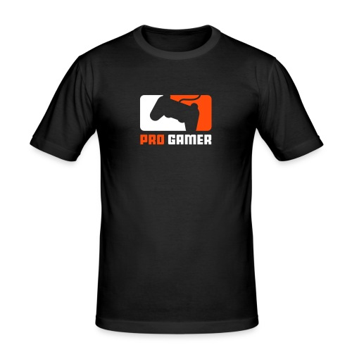 Pro Gamer - Männer Slim Fit T-Shirt