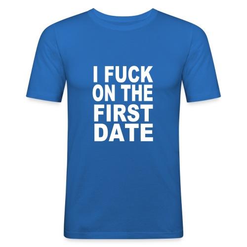 Il primo appuntamento - Maglietta aderente da uomo