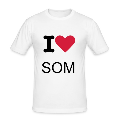 I Love Somalia - Slim Fit T-shirt herr