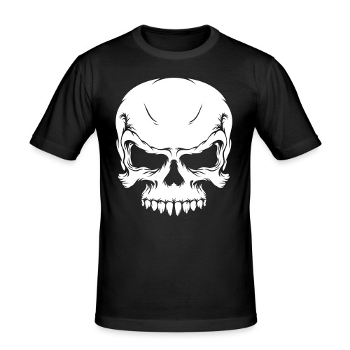skull - Men's Slim Fit T-Shirt
