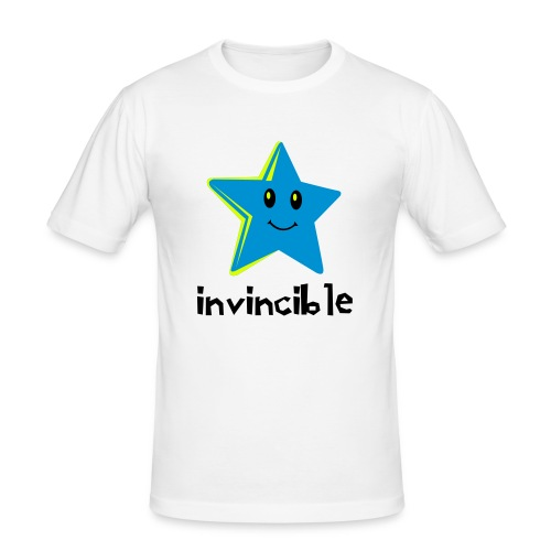 Mens Invincible-T - Men's Slim Fit T-Shirt
