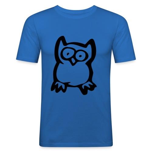 Ugle! - Herre Slim Fit T-Shirt