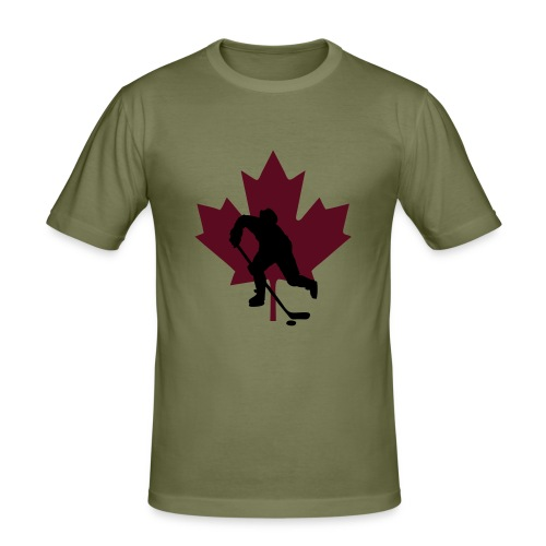 Men's Go Canada Slim Fit T - Men's Slim Fit T-Shirt