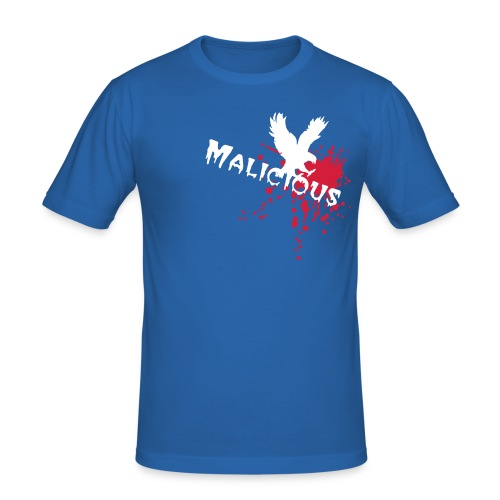malicious designs (phoenix fire) - Men's Slim Fit T-Shirt