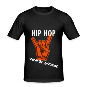 Hip Hop Rock Star - Men's Slim Fit T-Shirt