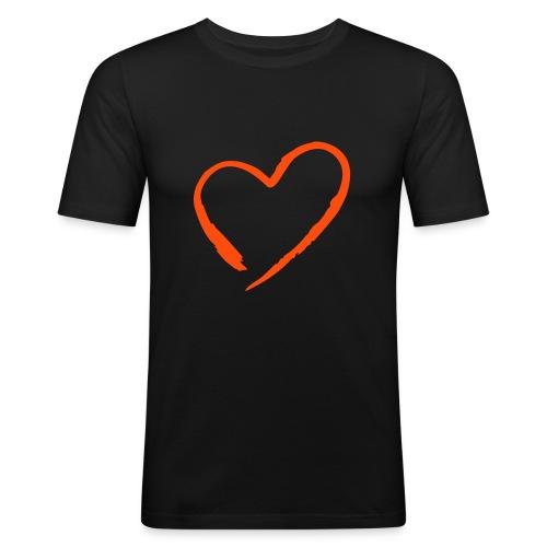 black love - slim fit T-shirt