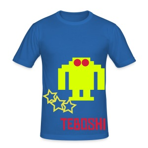 Teboshi Yellow Attack - Men's Slim Fit T-Shirt
