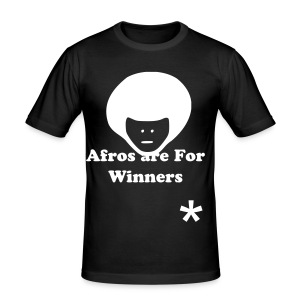 Afros  - Men's Slim Fit T-Shirt