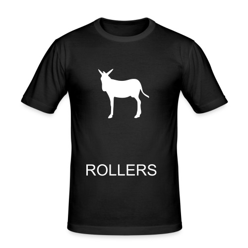donkey rollers - Men's Slim Fit T-Shirt