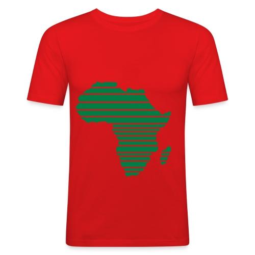 africa - T-shirt près du corps Homme